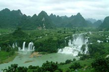 Nanning's Best Tourism Spots: Detian Waterfall