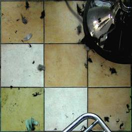 barber shop floor hair salon china