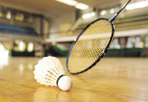 What are some similarities and differences between tennis and badminton??